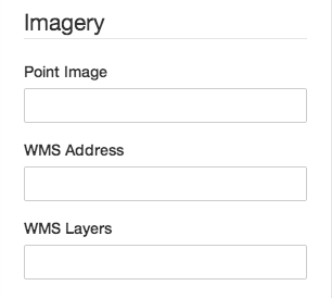 Screenshot of Imagery Fields